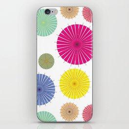 Paper Umbrellas iPhone Skin