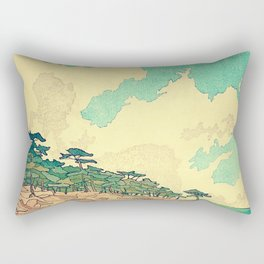 Arriving at Fenzhuo Rectangular Pillow