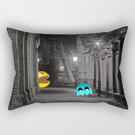 Pixel Hate Rectangular Pillow