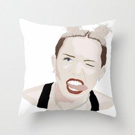 Bangerz. Throw Pillow