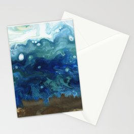 Ocean Surge Stationery Cards