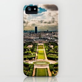 Paris from the Eiffel Tower iPhone Case