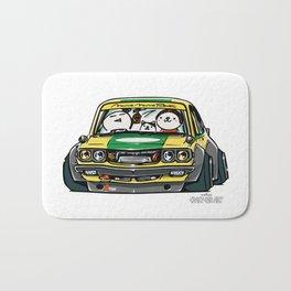 Crazy Car Art 0150 Bath Mat