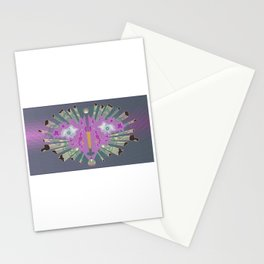 Exploding Rorschach Face Stationery Cards