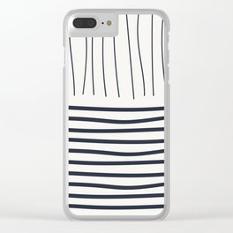 Coit Pattern 75 Clear iPhone Case
