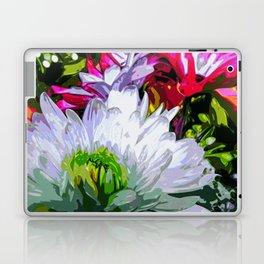 Floral Print Laptop & iPad Skin
