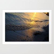 Shore 'nough  Art Print
