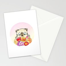 Flower Pugs - Tulips  Stationery Cards