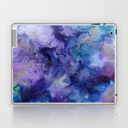Abstract Watercolor and Ink Laptop & iPad Skin