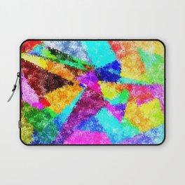 Formes géométriques multicolore Laptop Sleeve