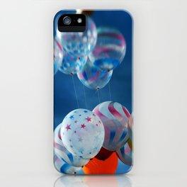 Balloon Bunch iPhone Case