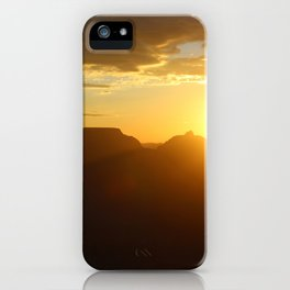 Canyon Dawn iPhone Case