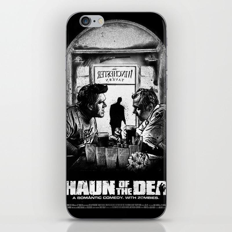 Shaun Of The Dead Iphone & Ipod Skin by Danknorris PSK8564978