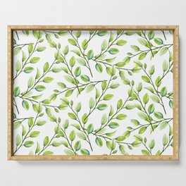 Branches and Leaves Serving Tray