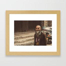Villager Framed Art Print