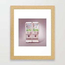 Claw Machine Framed Art Print