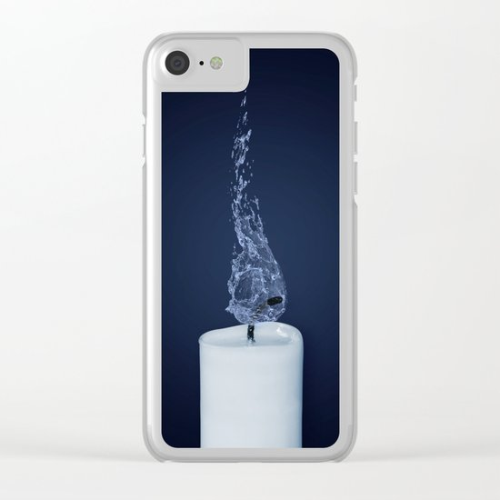 candle Clear iPhone Case