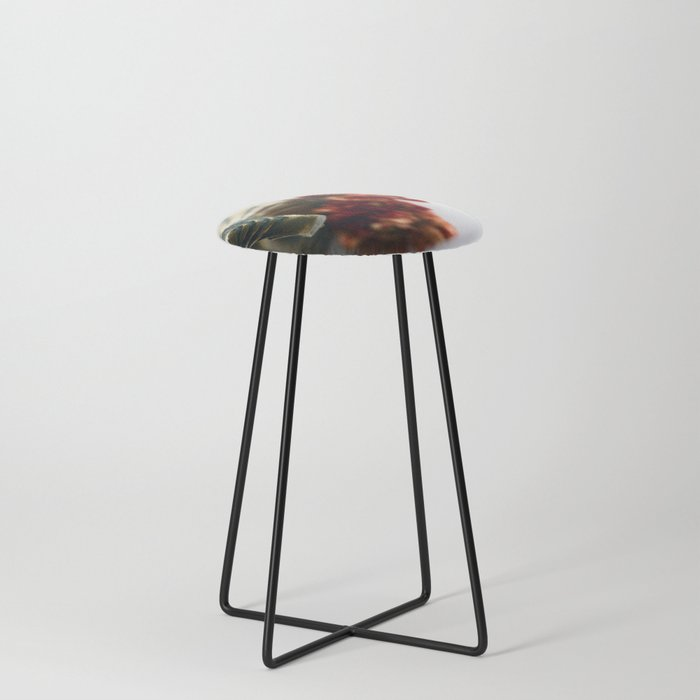 Flower bells in Counter Stool