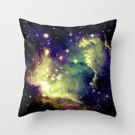 Nebula Galaxy (deep pastels) Throw Pillow