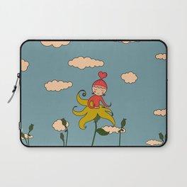 Flower Buddy :) Laptop Sleeve