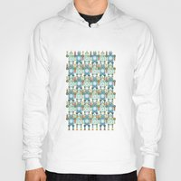 robots Hoodies featuring robots by Mr. Morris can Meow!
