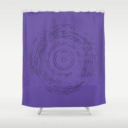 Violet Rainbow Shower Curtain