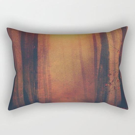 Seeking the light. Rectangular Pillow