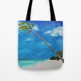 Island Palm & Ocean Breezes Tote Bag