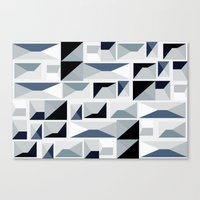 stark Canvas Prints featuring Stark  by Ilsa Falis