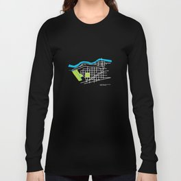 Brownes Addition / Peaceful Valley, Spokane Long Sleeve T-shirt