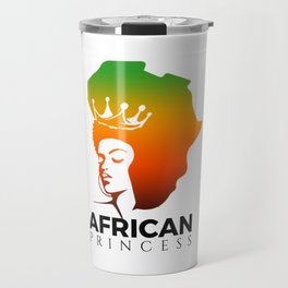 African Princess Travel Mug