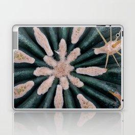 Cactus Plant Close-up Photogrpahy Round Photo Laptop & iPad Skin