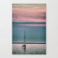 sail Canvas Prints featuring Sail by Alaina Abplanalp