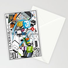 My Working Life Stationery Cards