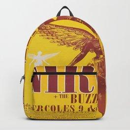 Nirvana in Utero Art Silk Poster Backpack