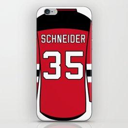 Cory Schneider Jersey iPhone Skin