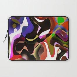 chevron wave illustrations background Laptop Sleeve