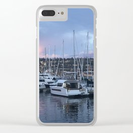 Fremont Boats Clear iPhone Case
