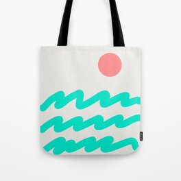 Abstract Landscape 08 Tote Bag