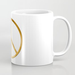 PEACE Symbol – 60th Birthday 21 Feb. 2018 Coffee Mug