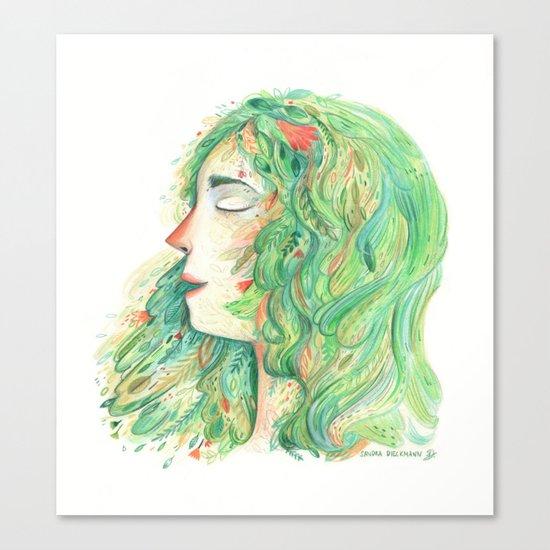 Lady Wildish Canvas Print