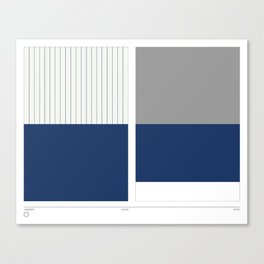 Home&Away Yankees Canvas Print