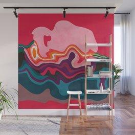 liquid shapes Wall Mural