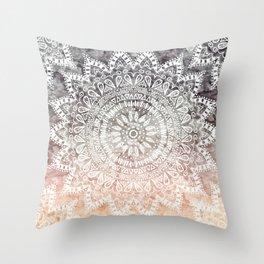 BOHEMIAN HYGGE MANDALA Throw Pillow