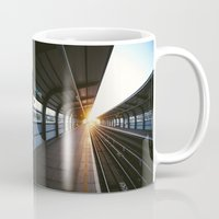 jewish Mugs featuring The light at the end of the tunnel by Brown Eyed Lady