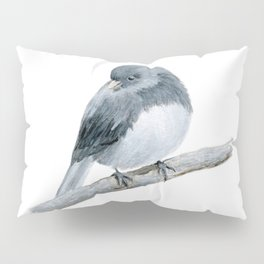 The Bashful Black-Eyed Junco by Teresa Thompson Pillow Sham