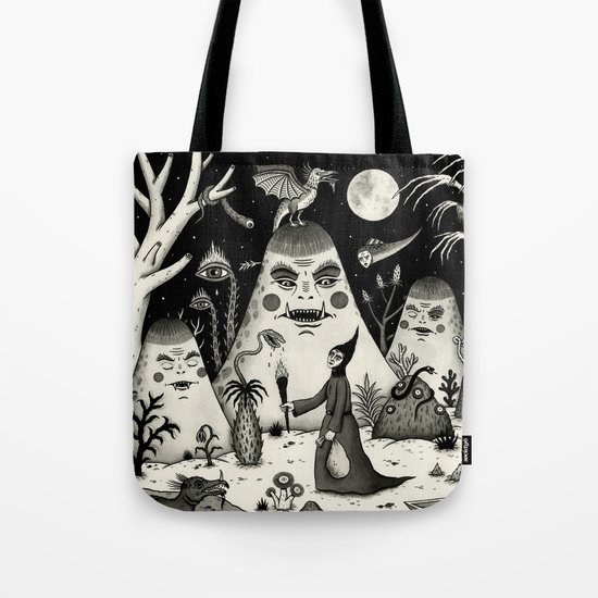 Outcry of the Island Tote Bag