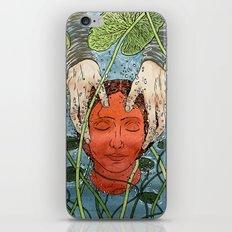 Death Mask iPhone & iPod Skin