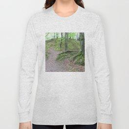 Forest Dunkeld Scotland Long Sleeve T-shirt