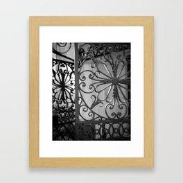 Iron Gate 1 Framed Art Print